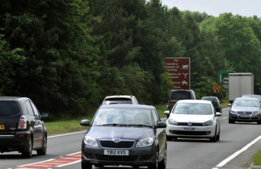 Action to improve the A64 traffic flow between York and Scarborough would help reduce the death toll, a high-level summit on one of the most notorious roads in Yorkshire.