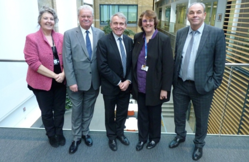 Bexley children's centre welcomes government minister Robert Goodwill
