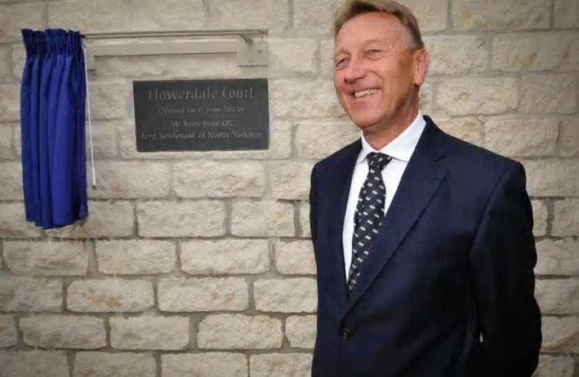 Scarborough pays tribute to Lord-Lieutenant of North Yorkshire