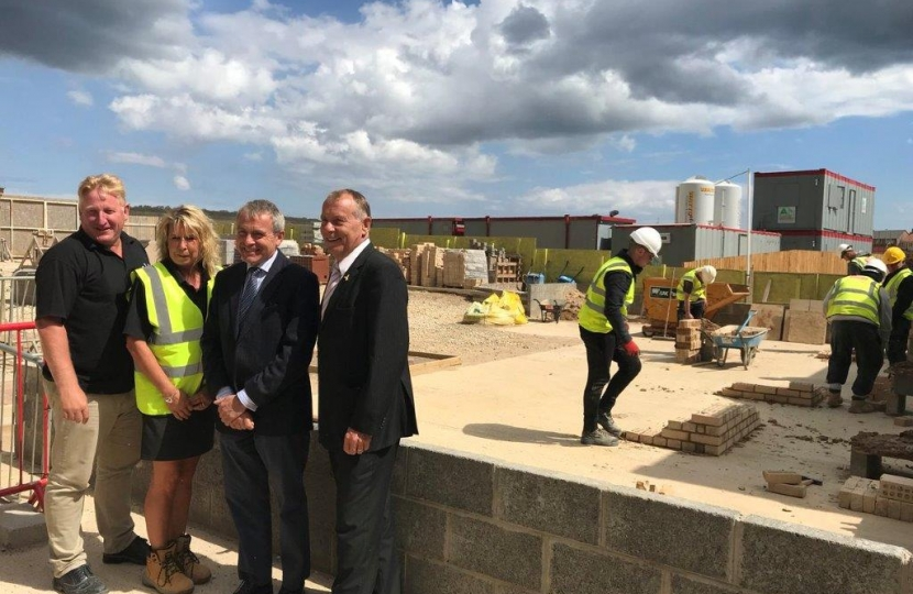 MP VISITS SCARBOROUGH CONSTRUCTION SKILLS VILLAGE