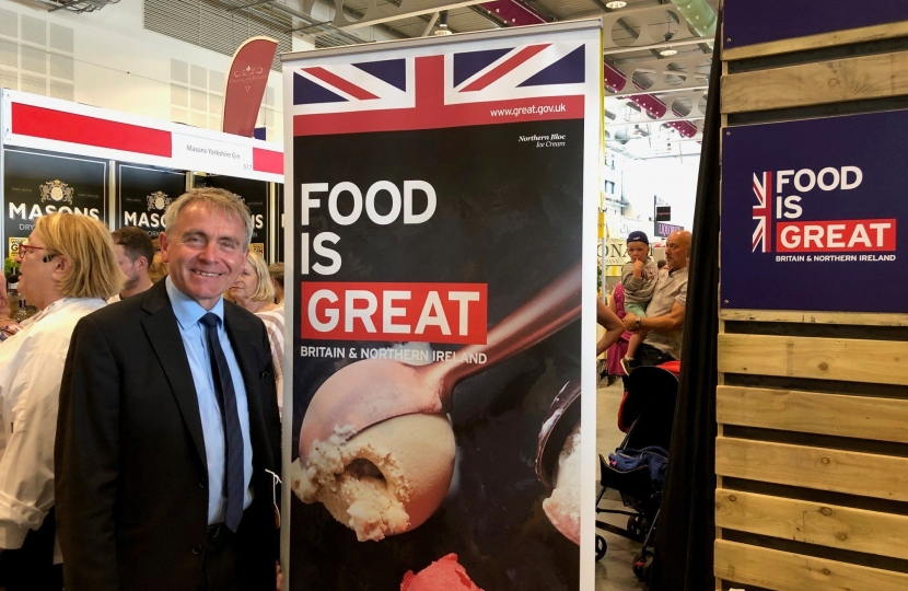 Farming Minister Robert Goodwill visits Great Yorkshire Show