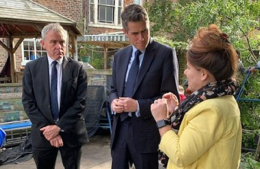 Education Secretary Gavin Williamson vows to 'put things right' during visit to Scarborough