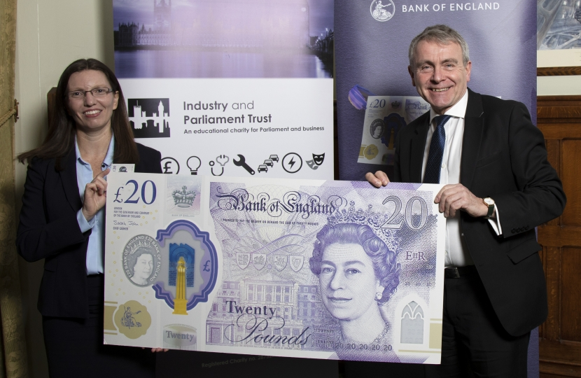 Robert Goodwill MP gets preview of new £20 note celebrating JMW Turner